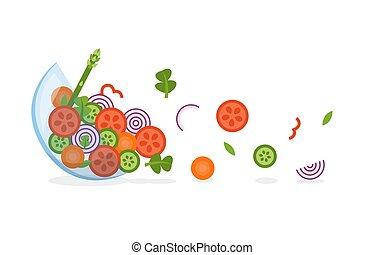 légumes frais, voler
