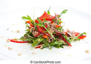 légumes, viande, rôti