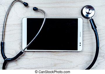 lékařský, grafické pozadí