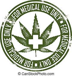 lékařský, marihuana