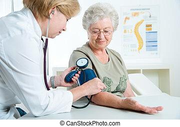lékařský zkouška