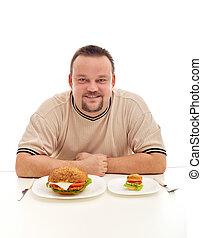 lényeg, diéta, nagyság
