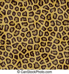léopard, fourrure