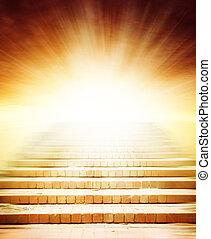 lépcső a mennybe