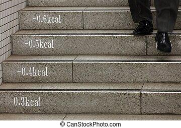 lépcsősor, aluljáró