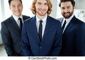 líder, empresa / negocio