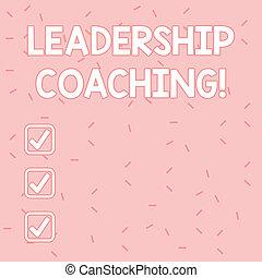 líder, texto, señal, capacidad, actuación, proceso, asperja, aleatorio, foto, individualized, coaching., confeti, diminuto, dispersado, encendedor, telón de fondo., conceptual, sombra, rosa, liderazgo, construye, s