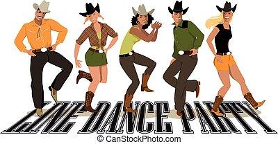 línea danza