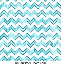 líneas, paralelo, zigzag