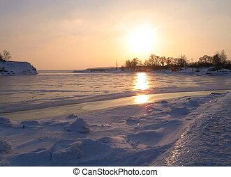 lód, milczenie
