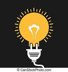 lök, begrepp, idé, nyskapande
