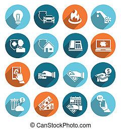 lön, ikonen, lagförslag, sätta, lägenhet
