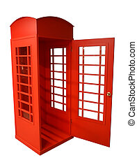 lön, lysande, tel., syn, indoors., london., röd, ...