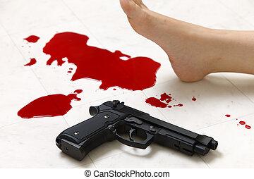 lövés, eset