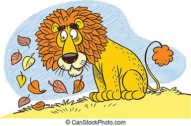 löwe, mähne