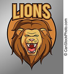 løve, mascot