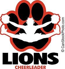 løver, cheerleader