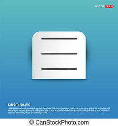 l - Blue Sticker button