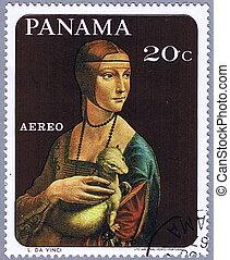L. da Vinci-Lady with an Ermine