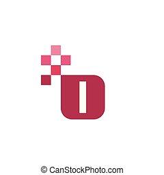 L Font Vector Template Design