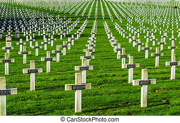 la, 墓地, フランス, 世界, vimy, targette, 1(人・つ), 戦争