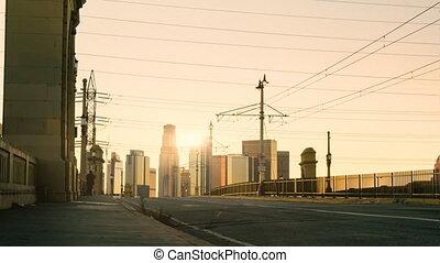 LA at Dusk Time-lapse