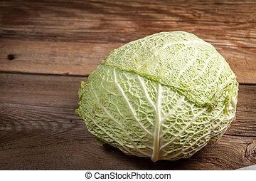la cabeza, de, cabbage.