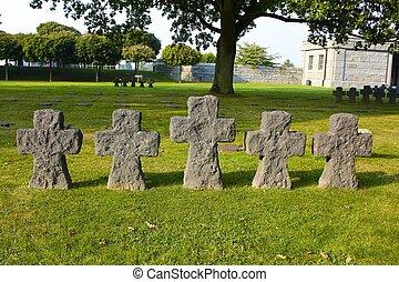 La Cambe German Military Cemetery