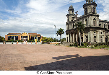 La Casa de Los Pueblos former Presidential Palace and the...
