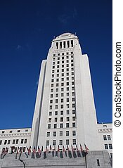 LA City Hall Tower