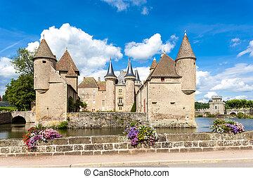 la, de, clayette, francia, borgoña, residencia lujosa