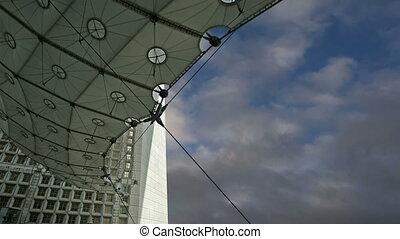 La Grande Arche.France - La Grande Arche. La Defense,...