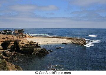 La Jolla Cove, California.