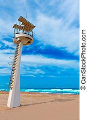La Manga del Mar Menor beach in Murcia Spain Playa Barco...