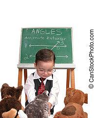 la mascota del profesor