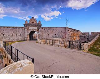 La Mola Fortress in Mahon on Minorca - Fortaleza de la Mola...