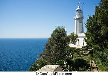 La Nao lighthouse - La Nao lighhouse, on the easternmost...