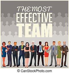la plupart, efficace, équipe
