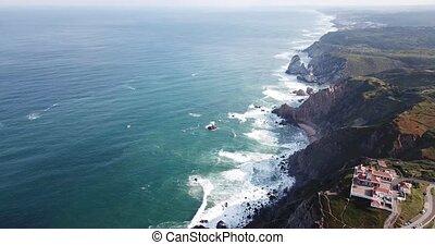 la plupart, westerly, ampleur, de, portugais, farol, da, ...