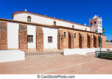 La Recoleta Church and Museum in Sucre, Bolivia