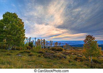 La Sal Mountain Byway in the Fall