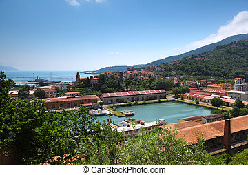 La Spezia Harbor Ligurian Coast Italy