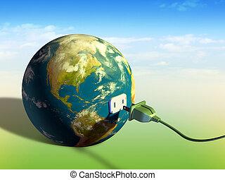 la terre, énergie