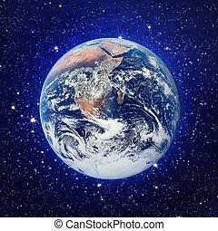 la terre, étoiles
