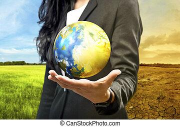 la terre, affaires femme, tenue
