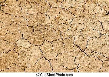 la terre, aride