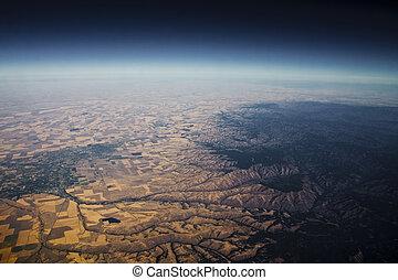 la terre, bord