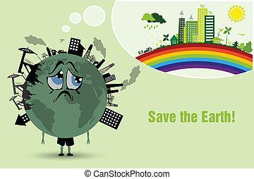 la terre, conserver