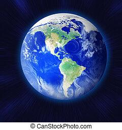 la terre, espace