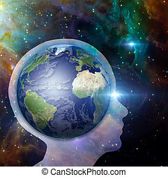 la terre, esprit